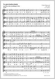 Claudio Monteverdi: La giovinetta pianta
