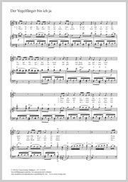 Wolfgang Amadeus Mozart: Der Vogelfänger bin ich ja