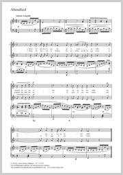 Felix Mendelssohn Bartholdy: Abendlied