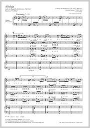 Ludwig van Beethoven: Alleluja