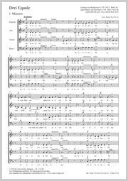 Ludwig van Beethoven: Drei Equale