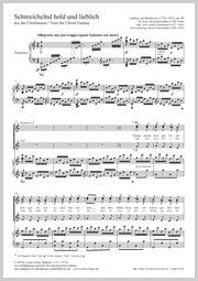 Ludwig van Beethoven: Schmeichelnd hold und lieblich