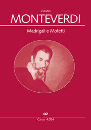Madrigali e Motetti. Choral collection Monteverdi