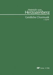 Herzogenberg: Die geistliche Chormusik a cappella