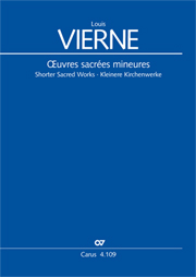 Vierne: Shorter sacred works. Vol. 15 of the Vierne Complete Edition