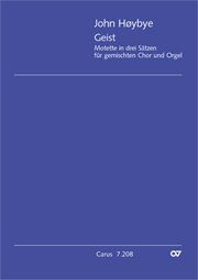 Hoybye:  Geist - Motette in drei Sätzen