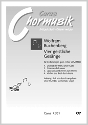 Buchenberg: Vier geistliche Gesänge