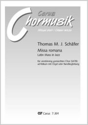 Thomas Schäfer: Missa romana. Latin Mass in Jazz