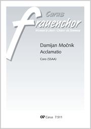 Damijan Mocnik: Acclamatio
