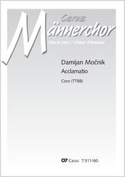 Damijan Mocnik: Acclamatio for TTBB