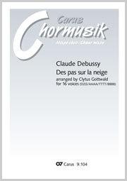 Claude Debussy: Des pas sur la neige