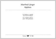 Manfred Länger: Applaus