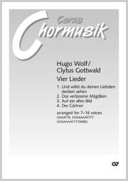 Wolf/Gottwald: Vier Lieder