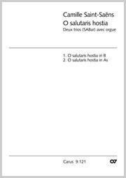 Saint-Saëns: O salutaris hostia (2 Sätze)