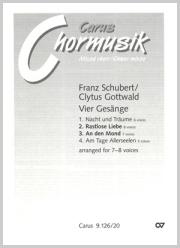 Schubert/Gottwald: Rastlose Liebe; An den Mond
