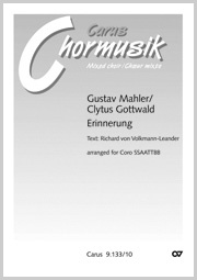 Gustav Mahler: Erinnerung