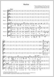 Beethoven/Gottwald: Drei Lieder nach Texten von Goethe