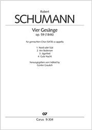Gesänge für Sopran, Alt, Tenor und Bass op. 59