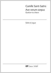 Camille Saint-Saëns: Ave verum corpus