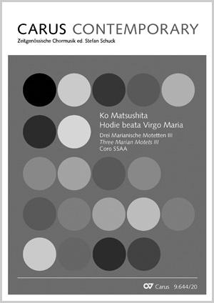 Ko Matsushita: Hodie beata Virgo Maria