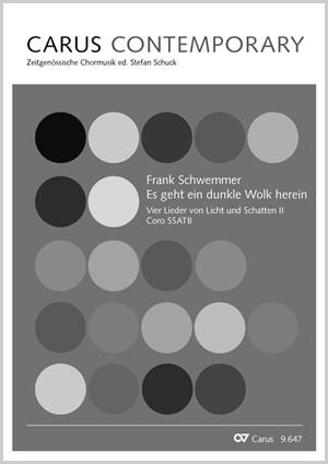 Frank Schwemmer: Es geht eine dunkle Wolk herein