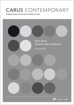 Paul Ayres: Te lucis ante terminum