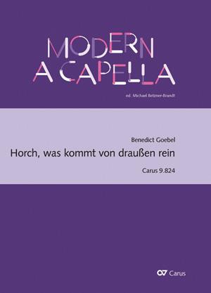 Benedict Goebel: Horch, was kommt von draußen rein