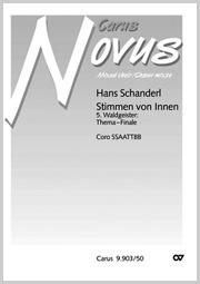 Hans Schanderl: 5. Waldgeister: Thema-Finale