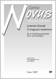 Lorenzo Donati: O magnum mysterium