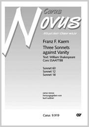 Kaern: Three Sonnets against Vanity