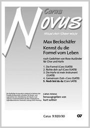 Max Beckschäfer: Noch bist du da