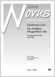 Gianfranco Grisi: De virtutibus effugantibus vitia