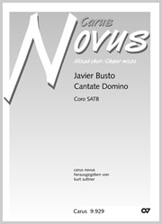 Javier Busto: Cantate Domino