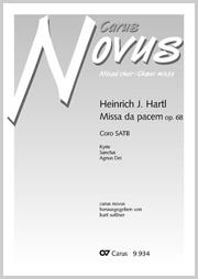 Heinrich J. Hartl: Missa da pacem