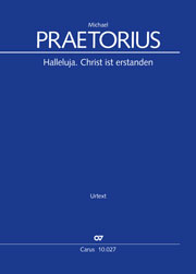 Michael Praetorius: Halleluja. Christ ist erstanden