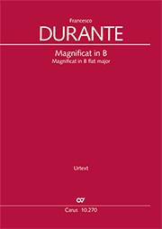 Francesco Durante: Magnificat in B flat major