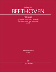 Ludwig van Beethoven: Fantasia for piano, choir and orchestra