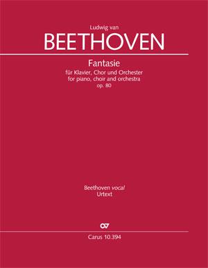 Ludwig van Beethoven: Fantasie für Klavier, Chor und Orchester
