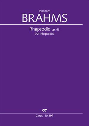 Johannes Brahms: Rhapsody