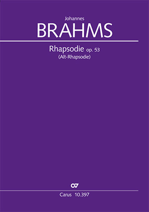 Johannes Brahms: Alt-Rhapsodie