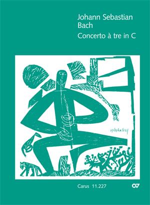 Johann Sebastian Bach: Concerto à tre in C