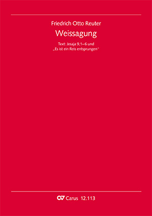 Friedrich Otto Reuter: Weissagung