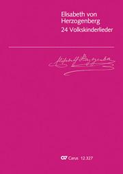 Elisabeth von Herzogenberg: 24 Volkskinderlieder