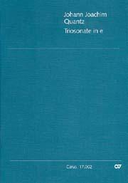 Johann Joachim Quantz: Triosonate in e