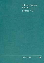 Johann Joachim Quantz: Sonate in D
