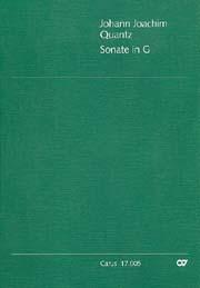 Johann Joachim Quantz: Sonate in G