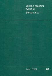 Johann Joachim Quantz: Sonate in a