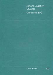 Johann Joachim Quantz: Concerto per Flauto in G