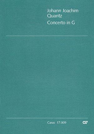 quantz concerto in g major