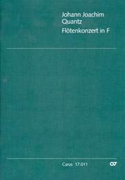 Johann Joachim Quantz: Flötenkonzert in F